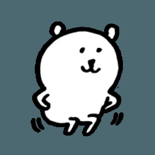 W bear emoji 2 - Sticker 8