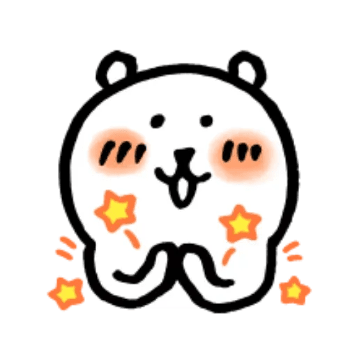 W bear emoji 2 - Sticker 1