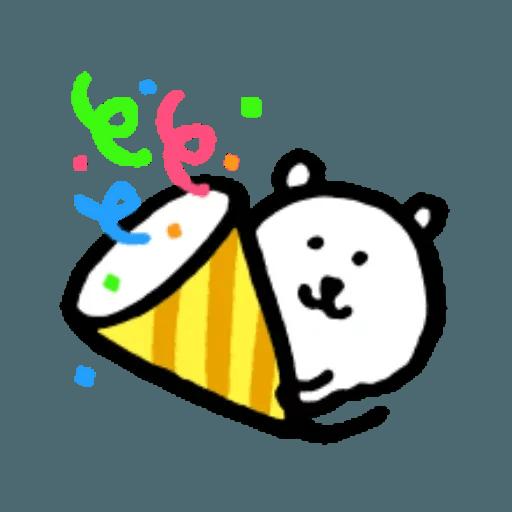 W bear emoji 2 - Sticker 10