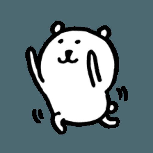 W bear emoji 2 - Sticker 9