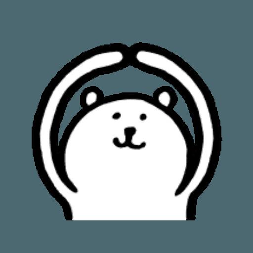 W bear emoji 2 - Sticker 6