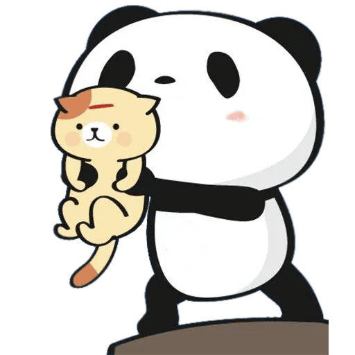 LittlePanda - Sticker 1