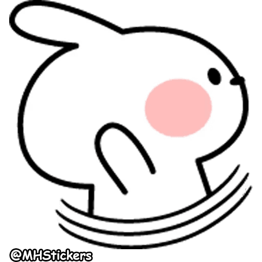 Spoiled rabbit 26 - Sticker 3
