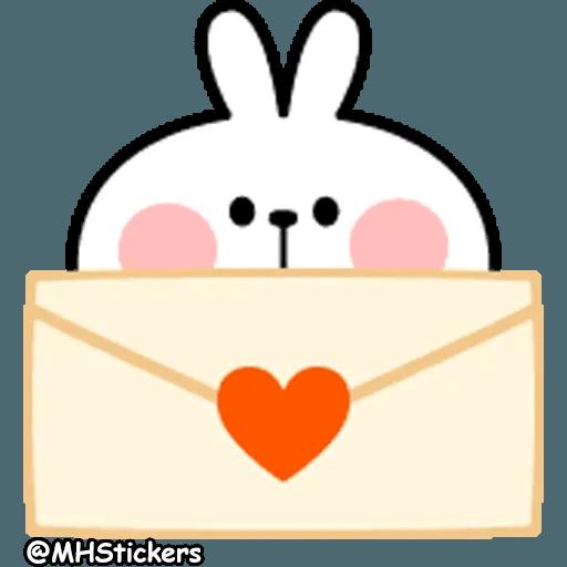 Spoiled rabbit 26 - Sticker 26