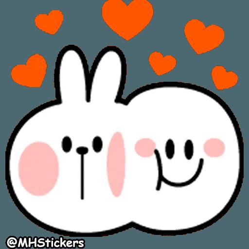 Spoiled rabbit 26 - Sticker 7