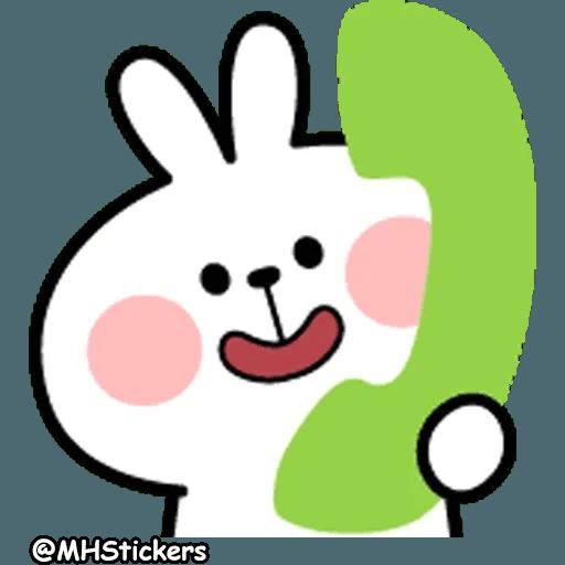 Spoiled rabbit 26 - Sticker 24