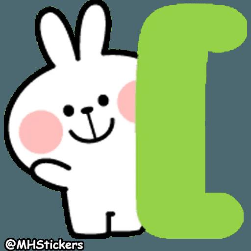 Spoiled rabbit 26 - Sticker 19