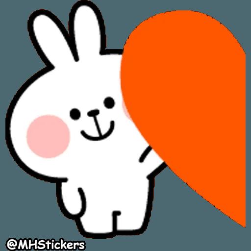 Spoiled rabbit 26 - Sticker 12