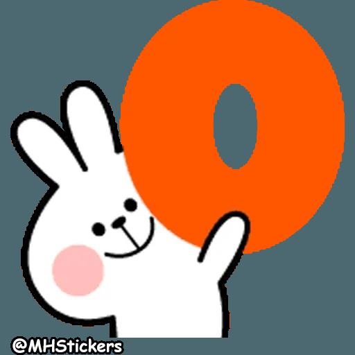Spoiled rabbit 26 - Sticker 14