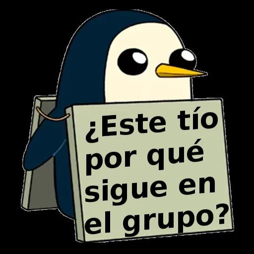 Pingüinos Garcy99 - Sticker 16