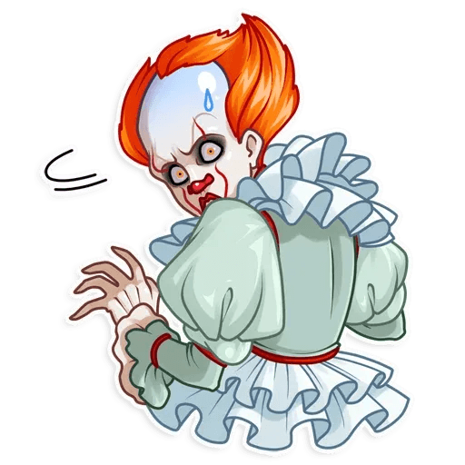 Pennywise - Tray Sticker