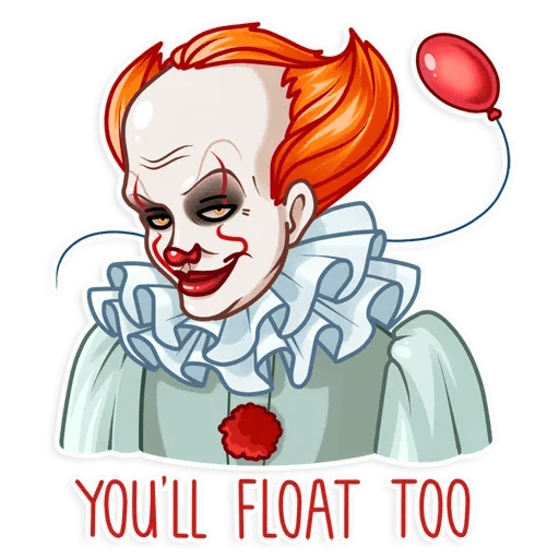 Pennywise - Sticker 2