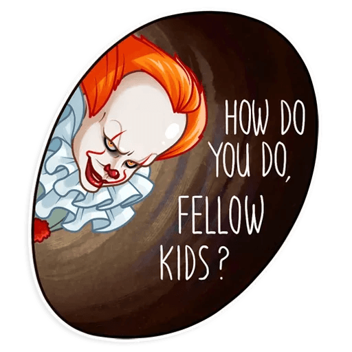 Pennywise - Sticker 16