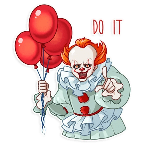 Pennywise - Sticker 4