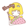 Princess - Tray Sticker