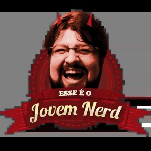 Jovem Nerd 2 - Sticker 20