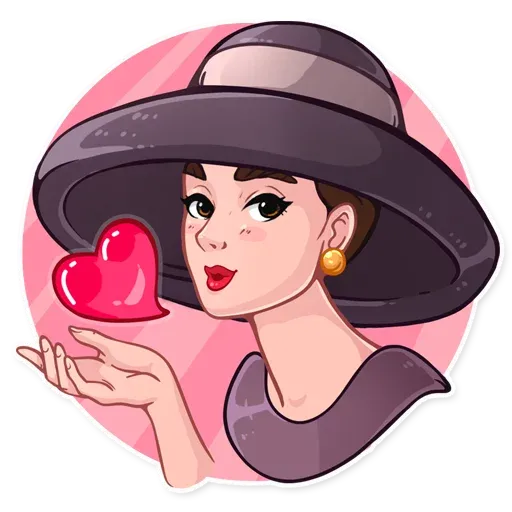 Miss Hepburn - Sticker 2