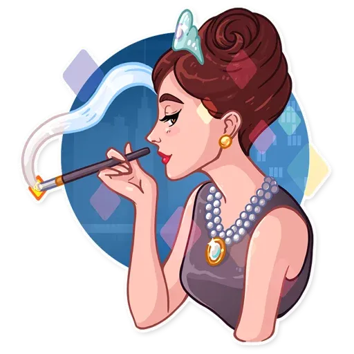 Miss Hepburn - Sticker 11
