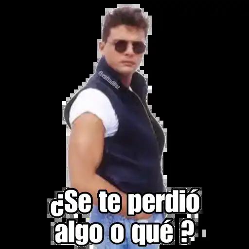 Luis Miguel - Chayanne - Mijares - Sticker 26