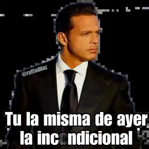 Luis Miguel - Chayanne - Mijares - Sticker 24