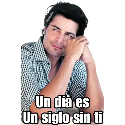 Luis Miguel - Chayanne - Mijares - Sticker 14