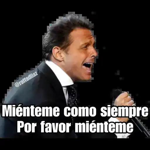 Luis Miguel - Chayanne - Mijares - Sticker 7