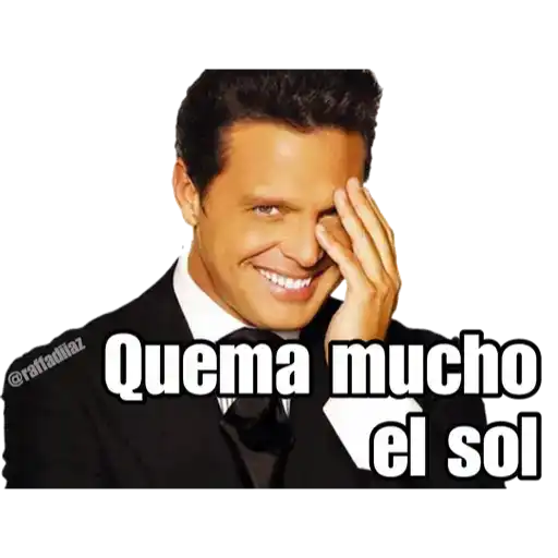 Luis Miguel - Chayanne - Mijares - Sticker 4