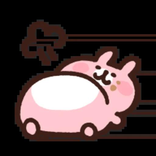 粉紅兔兔5 - Sticker 28