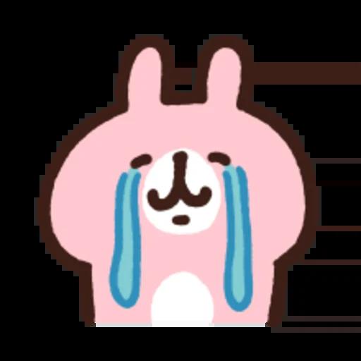 粉紅兔兔5 - Sticker 8