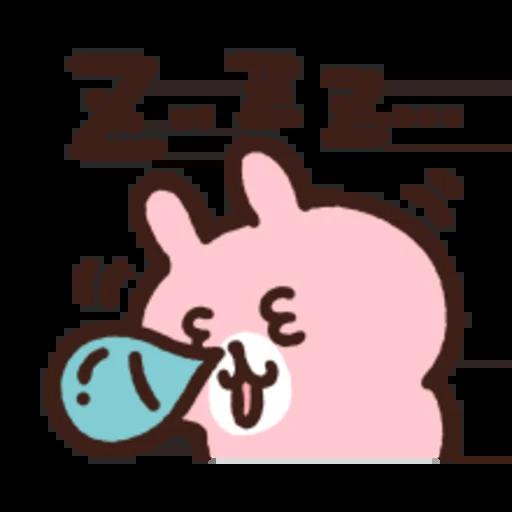 粉紅兔兔5 - Sticker 18