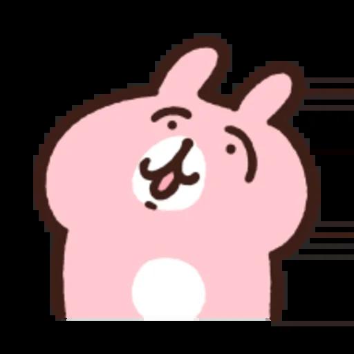 粉紅兔兔5 - Sticker 9
