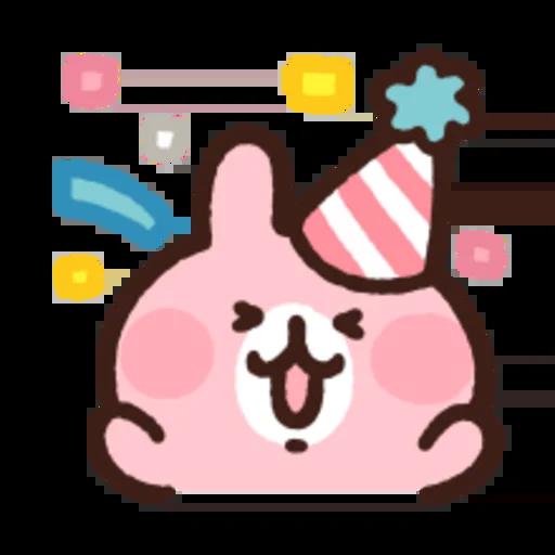 粉紅兔兔5 - Sticker 20