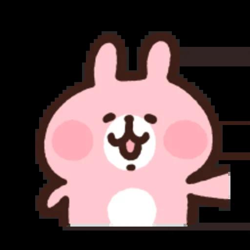粉紅兔兔5 - Sticker 29