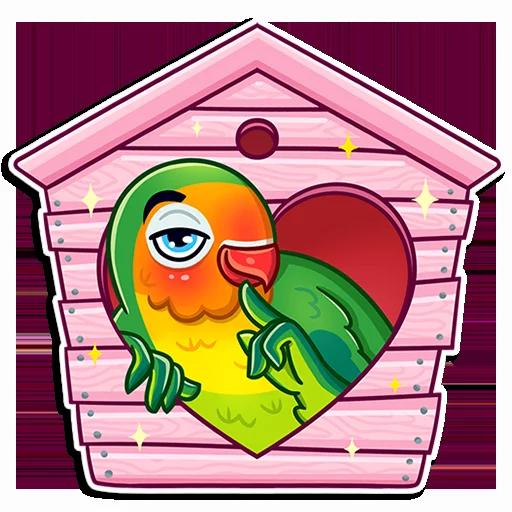 Love Bird - Sticker 28