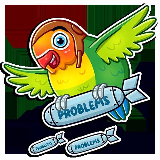 Love Bird - Sticker 24