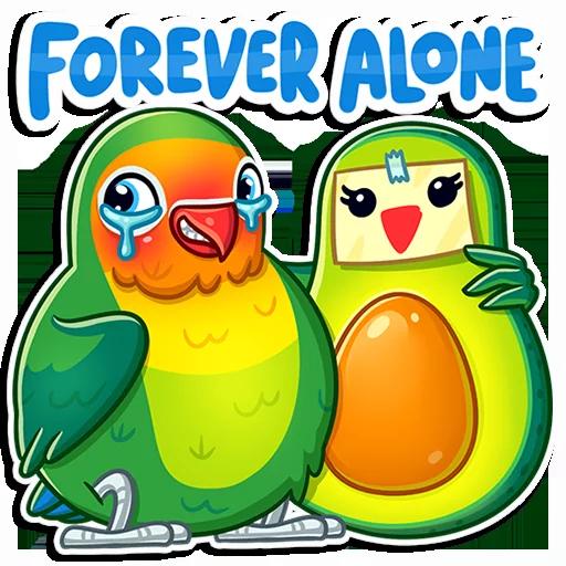 Love Bird - Sticker 14