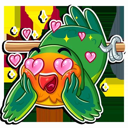 Love Bird - Sticker 29