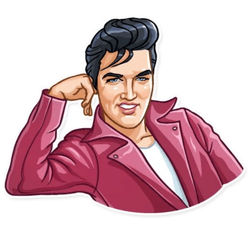 Elvis Presley - Sticker 3