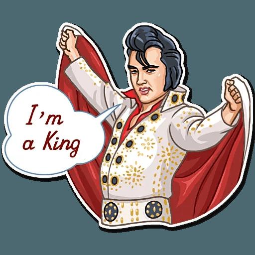 Elvis Presley - Sticker 12