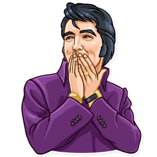 Elvis Presley - Sticker 19