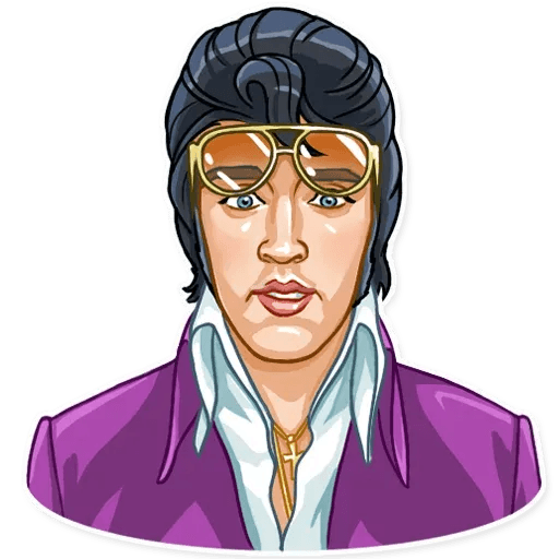 Elvis Presley - Sticker 4