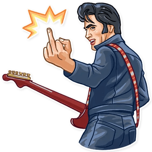 Elvis Presley - Sticker 5