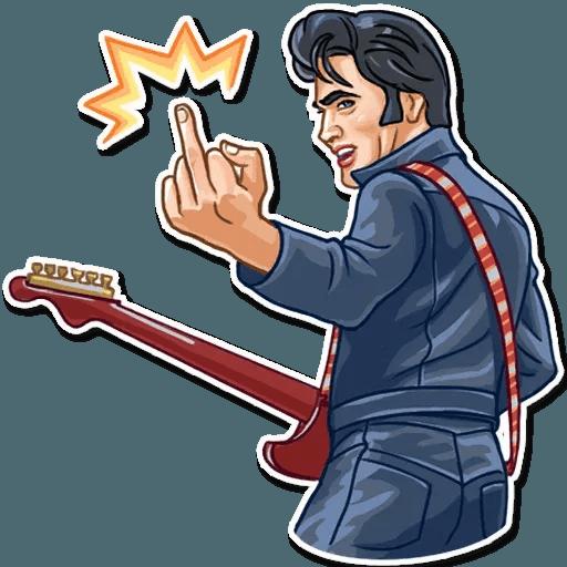 Elvis Presley - Sticker 5
