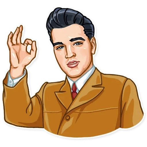Elvis Presley - Sticker 6