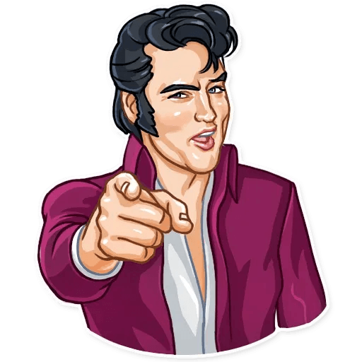 Elvis Presley - Sticker 13