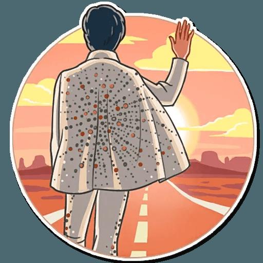 Elvis Presley - Sticker 17
