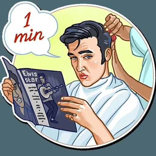 Elvis Presley - Sticker 8