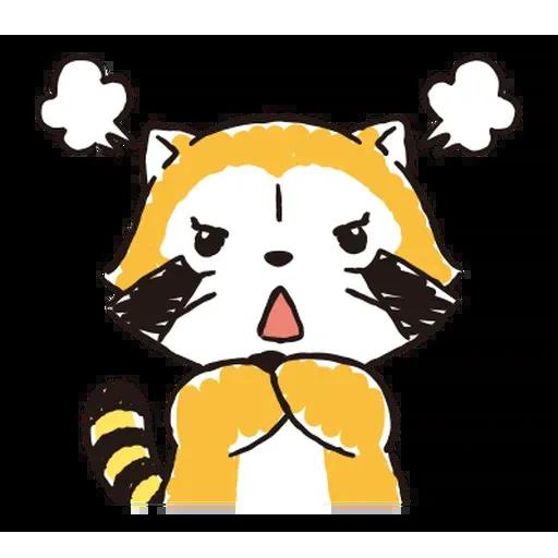 小浣熊 - Sticker 24