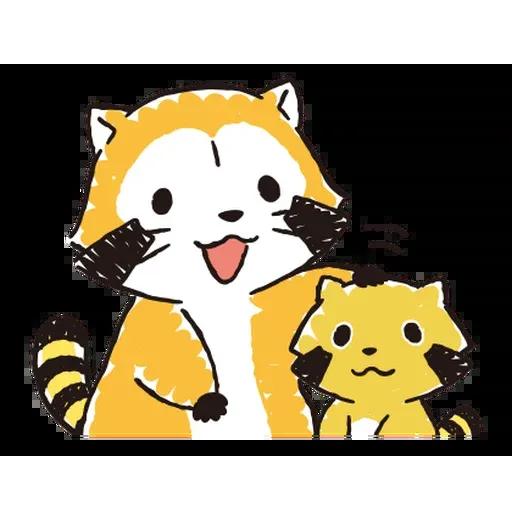 小浣熊 - Sticker 5