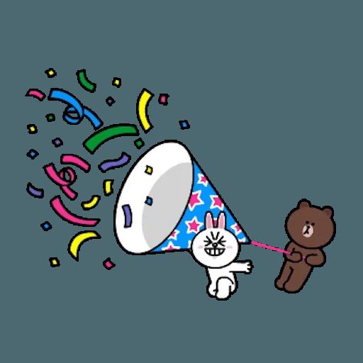 熊大兔兔迷你篇 - Sticker 21